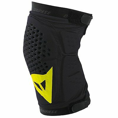 Dainese Trail Skins Knee Guards Black/Yellow