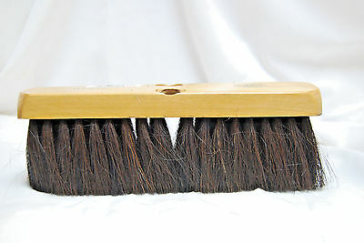 "H.B. Smith Tools #HPB10H HORSEHAIR BROOM 10"" PUSH BROOM ""HEAD ONLY"" (#S7036)"