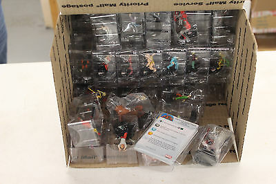 Heroclix 40ct Bulk Lot - Random FIgures With Cards
