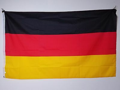 GERMANY 3X5 ft Country FLAG Lightweight 100% Polyester w/ Brass Grommets
