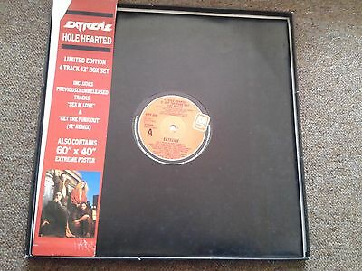 """Extreme Hole Hearted/Get The Funk Out Remix Vinyl 12"""" Box Set With Poster 1990"""