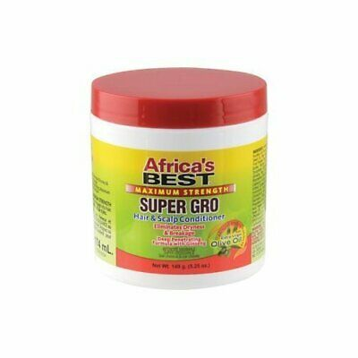 Africa's Best Super Gro Maximum Strength (Hair & Scalp Conditioner) 5.25oz