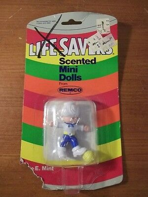 RARE Vintage 1982 REMCO TOYS LIFESAVERS SCENTED MINI DOLLS NEW MIKE E. MINT