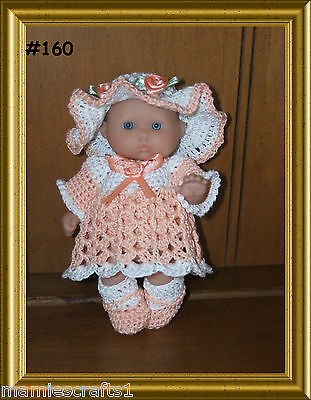 "5"" BERENGUER  DOLL OUTFITS- Made To Order"