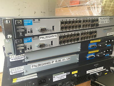 HP ProCurve Switch 6200yl-24G yl GBIC Gigabit 24 Ports 1GbE SFP Layer 3 J8992A