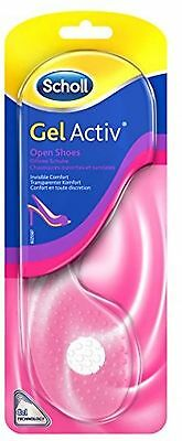 Scholl Gel Activ Comfy Insoles Open Shoes invisible comfort