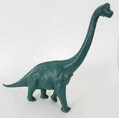 VINTAGE NATURAL HISTORY MUSEUM LARGE BRACHIOSAURUS DINOSAUR by INVICTA 1984
