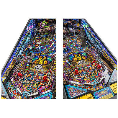 Stern Aerosmith Pinball Machine Inside Art Blades