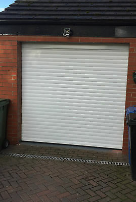 77mm Elite Electric Roller Door in WHITE - Nationwide Fitting Service Available