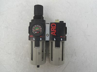 Ingersoll Rand Air Compressor Piggyback Regulator/filter & Lubricator 1/2""