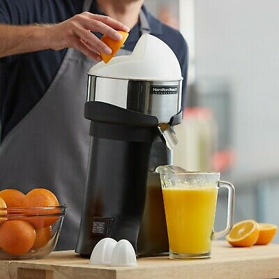 """Hamilton Beach 96700 Electric 18 1/2"""" Commercial Juicer 120V 3/8 Hp ( One ) Nsf"""