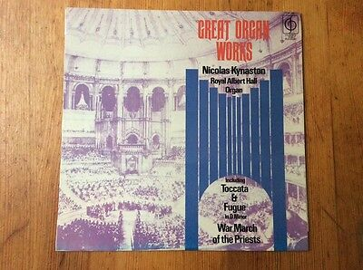 Great Organ Works. Nicolas Kynaston. LP