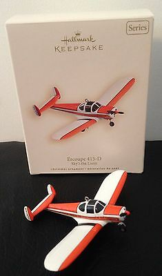 HALLMARK ERCOUPE 415 D - Boxed Christmas Decoration Collectable PLANE