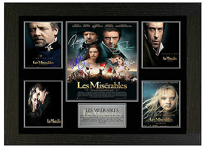 Les Miserables - A3 Signed Framed Collectors Display Picture