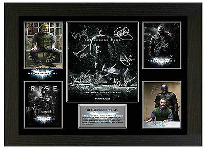 Batman - A3 Signed Framed Collectors Display Picture