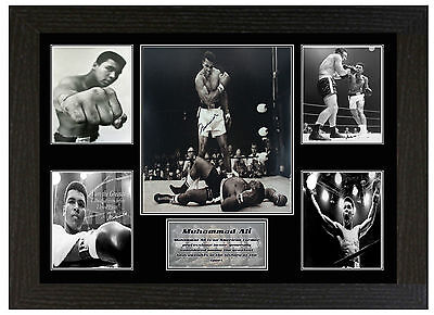 Muhammad Ali - A3 Signed Framed Collectors Display Picture