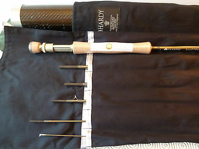 """HARDY ANGEL 2 (MkII/Mk2) SMUGGLER 9' 6"""" #7 6pce FLY FISHING TROUT ROD - Ex Demo"""