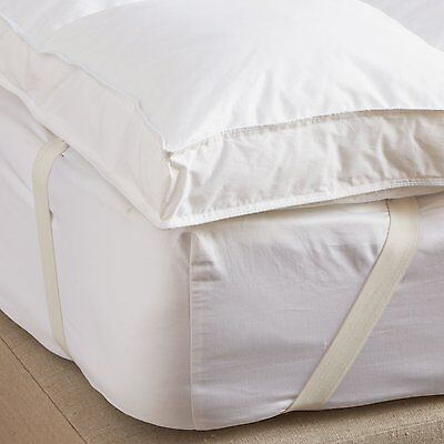 "Luxury 2"" Supersoft Heavy Fill Microfibre Mattress Topper 