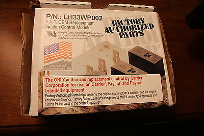 NEW Carrier Bryant Payne LH33WP002 FAP OEM Replacement Ingnition Control Module