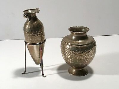 Silver Miniature Greek Amphora Set .925 - hand made
