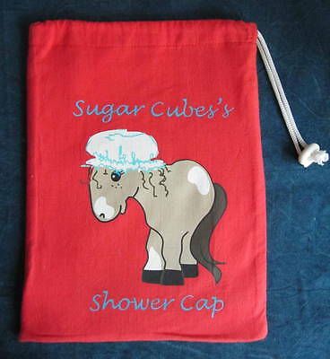 Pony Wash Bags - Red