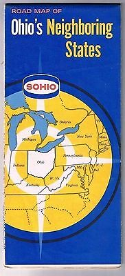 Northeastern United States Shell Road Map 1961