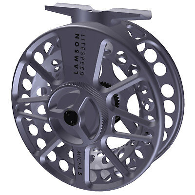 Lamson Litespeed Micra 5 Fly Fishing Large Arbor Reels with Sealed Conical Drag