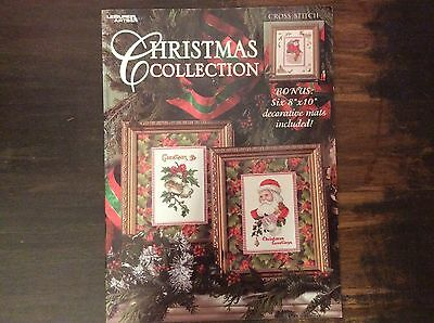 """COUNTED THREAD  CROSS STITCH"""". CHRISTMAS COLLECTION"""" by LEISURE ARTS"""