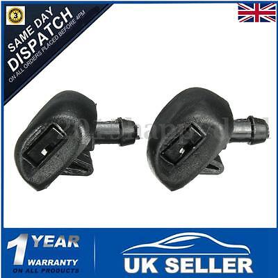 2x Windscreen Wiper Washer Jets Jet Nozzle Pair Spray 6438Z1 For Peugeot 407 UK