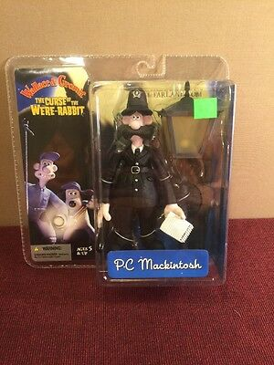 Curse of the Were-Rabbit PC Mackintosh Figure Wallace & Gromit Movie McFarlane