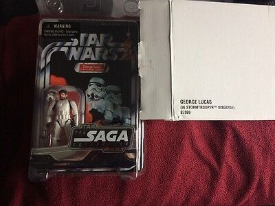 Star Wars George Lucas In Stormtrooper Disguise The Saga Collection