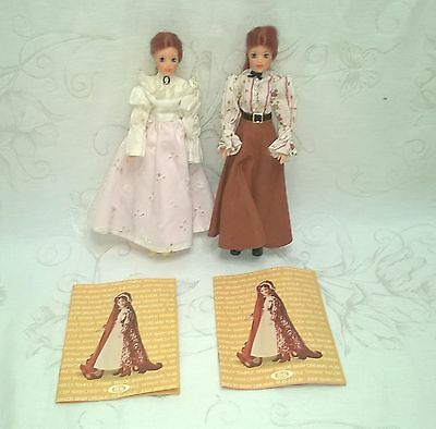Vintage Ideal Jody Country Girl Dolls (2) A/o Minty $16.99