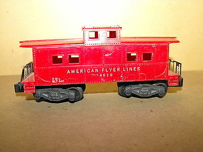 1950's American Flyer 24610 Caboose