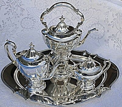 Antique Reed and Barton Sterling Silver 4 Piece Teaset