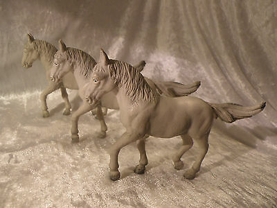 Schleich Germany Lot Of 3 Lipizzaner Stallions Horses 13220 Very Nice Group