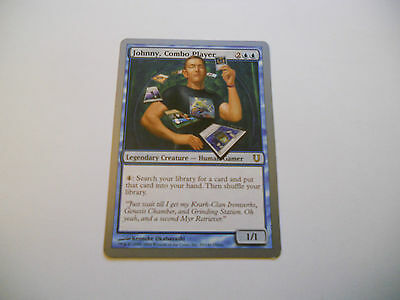 1x MTG Johnny Combo Player Magic EDH UNH Unhinged ING Inglese x1