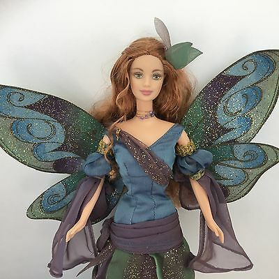 BARBIE COLLECTOR Fairy of the Forest Mackie Face Copper Hair TNT Doll w Wings