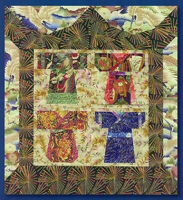 Robes of Honour Foundation Pieced Quilt Pattern - 0092