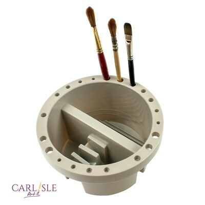 Brush Tub Plastic ( For Turps or Water)16.5cm Brushes not included