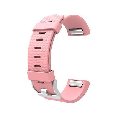 For FitBit Charge 2 Classic Bands, Wearlizer Silicone Replacement Strap