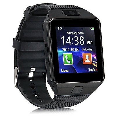 DZ09 Bluetooth Smart Watch GSM SIM Camera for iPhone Samsung Android Phone Mate