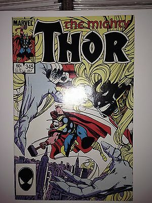 Thor #345 (Jul 1984, Marvel) VF (2nd Malekith)