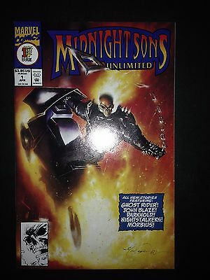 Midnight Sons Unlimited #1 (1993) VF/NM  (comes with card inserts)