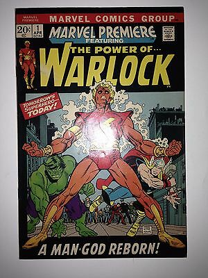 Marvel Premiere #1 FN/VF (1st appearance of HIM as Adam Warlock )