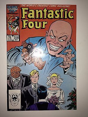 Fantastic Four #300 VF (1987) double size issue