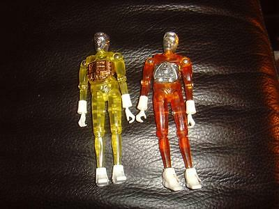 2 x AIRFIX MICRONAUTS TIME TRAVELLERS ACTION FIGURES 1970