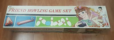 Friend bowling game vintage toy by Bandai Excellent condition with score sheets!