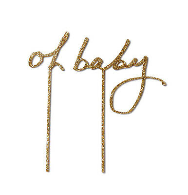 NEW Oh Baby Cake Topper Women's by Poppies for Grace