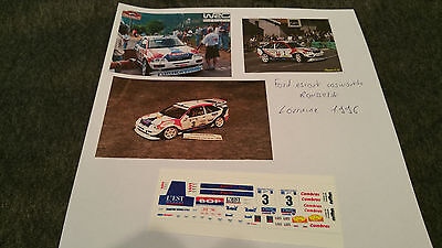 Decals 1/43 Ford Escort Rousselot 1996