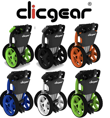 New 2017 Clicgear 3.5+ Golf Trolley Push Cart 3 Wheel  + FREE Gifts